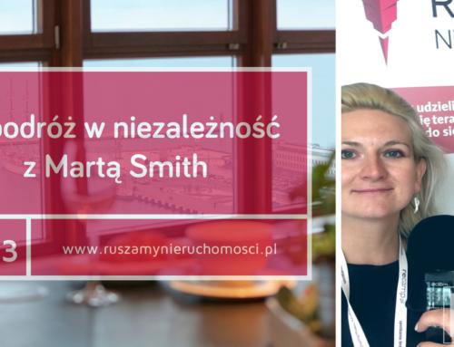 [RN33] W podróż w niezależność z Martą Smith.