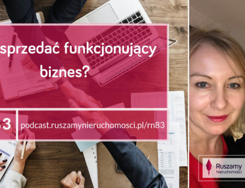 [RN83] Jak sprzedać funkcjonujący biznes?