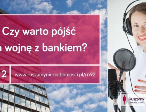 [RN92] Czy warto pójść na wojnę z bankiem?