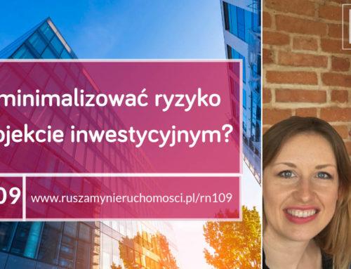 [RN109] Jak minimalizować ryzyko w projekcie inwestycyjnym?