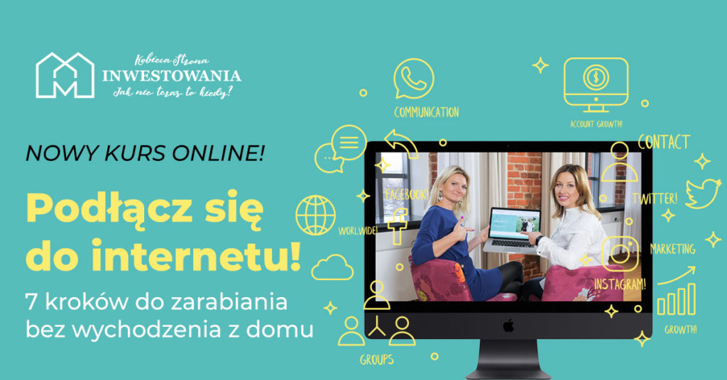 Kurs online - Podłącz się do internetu